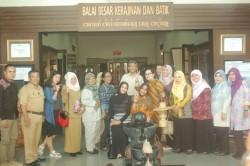 Ingin Mengembangkan Potensi  SDA, Wisata dan Industri Ketua Dekranasda Kabupaten Berau dan Rombongan Berkunjung ke BBKB Yogyakarta _foto