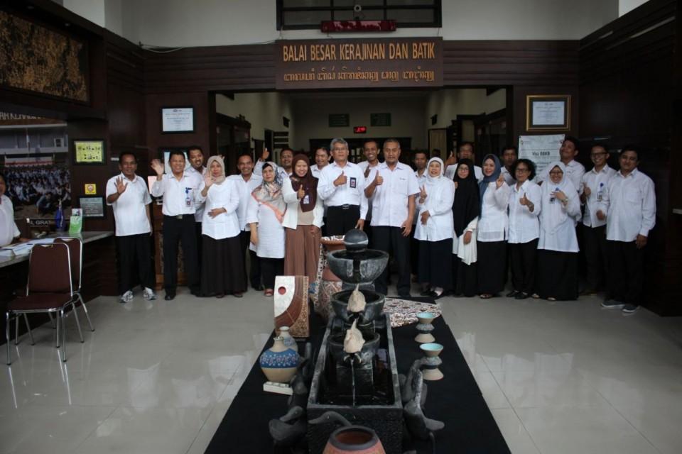 Pelatihan Kerajinan Logam dan Batik Kerjasama Badan Pengembangan Wilayah Suramadu (BPWS) Dengan Balai Besar Kerajinan dan Batik Yogyakarta (BBKB)_foto