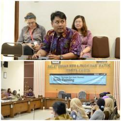 Meriahkan Hari Batik, BBKB Gelar  Workshop Batik Painting Kontemporer bersama Mrs. Brigitte Willach_foto