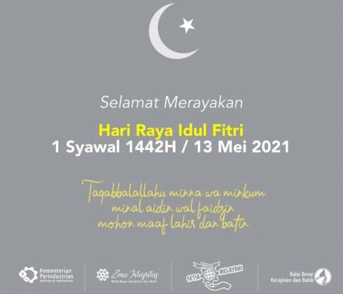 Selamat Hari Raya Idul Fitri 1 Syawal 1442 H_foto