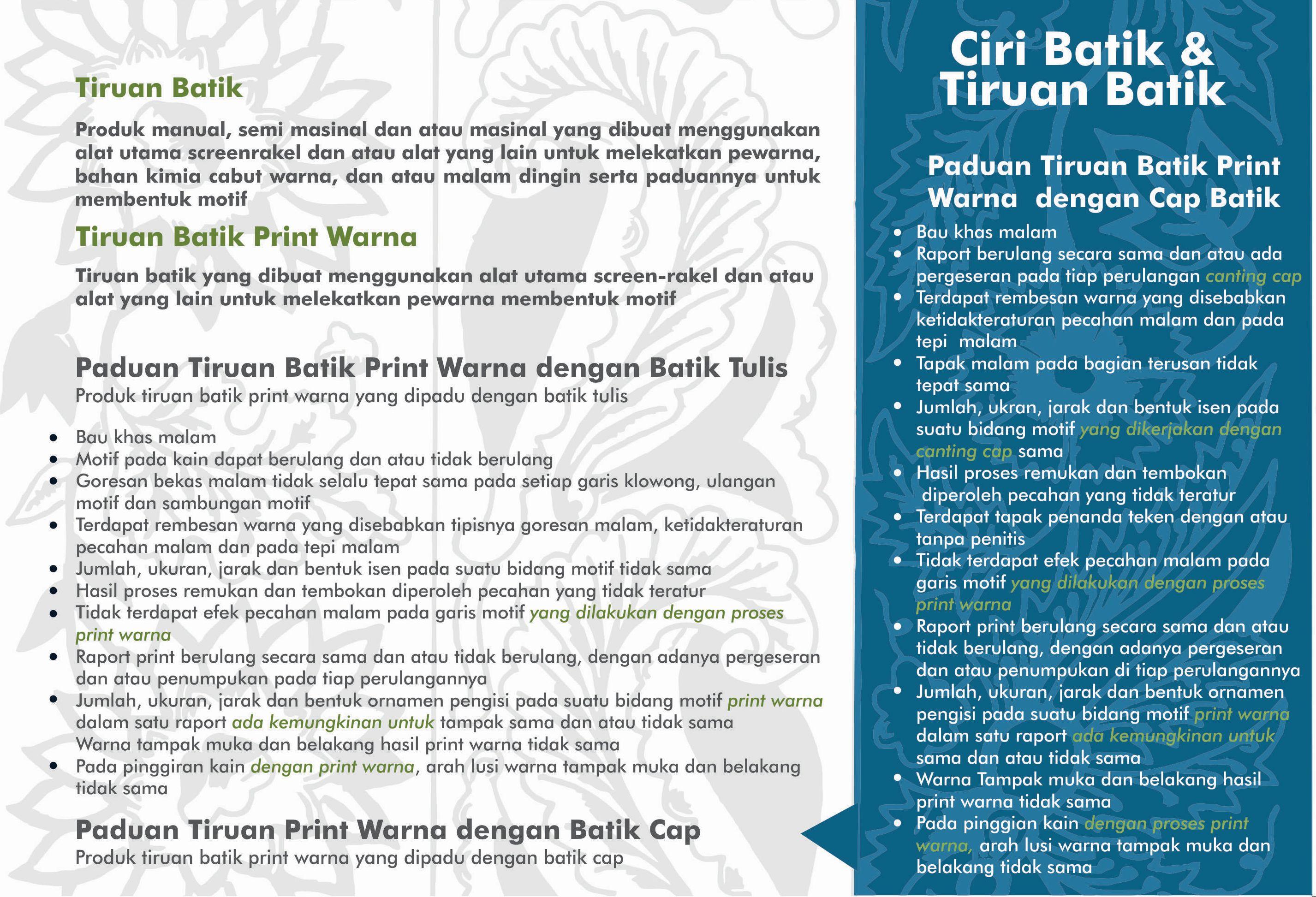 Ciri Batik II