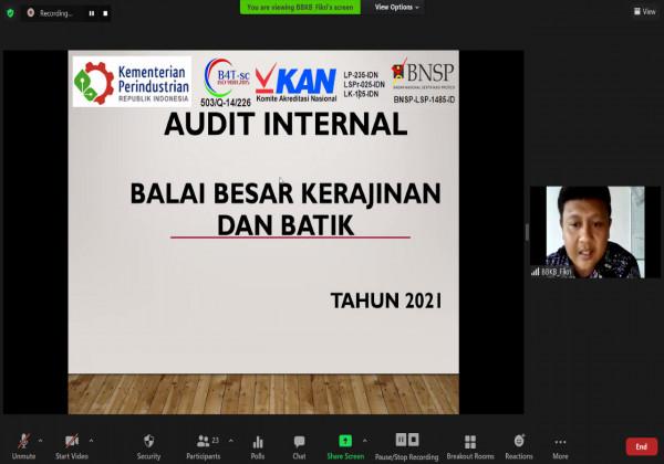 Pembukaan Audit Internal Sistem Manajemen Mutu Integrasi_foto
