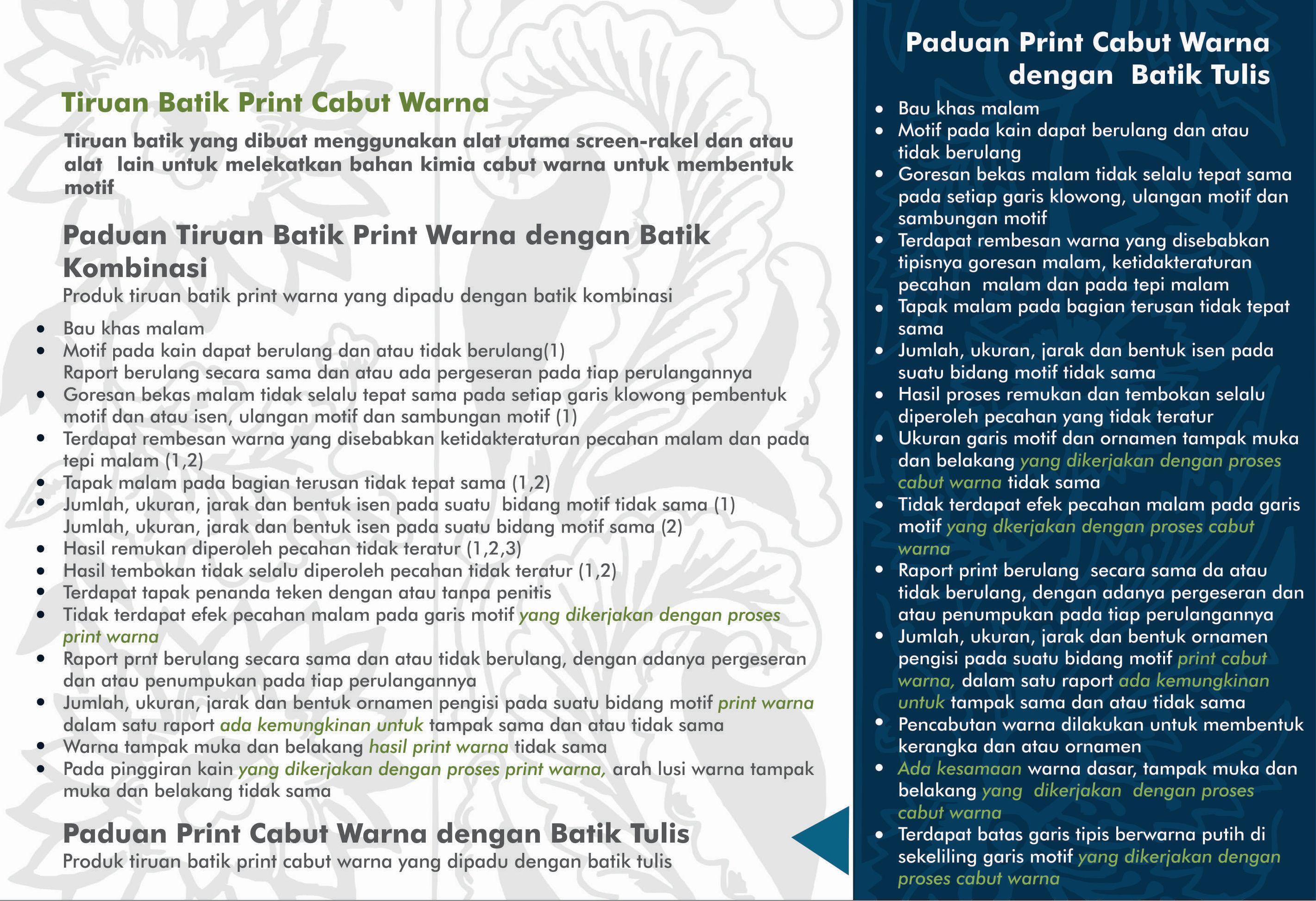 Ciri Batik III