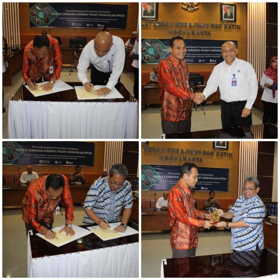 Perkuat Litbang Balai, BBKB Kementerian Perindustrian Lakukan Penandatangan Kerjasama _foto