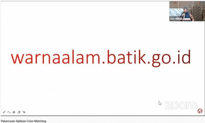 Soft Launching & Knowledge Sharing NaDIn  Natural Dyes Indexation (Katalog Digital Warna Alam)_foto