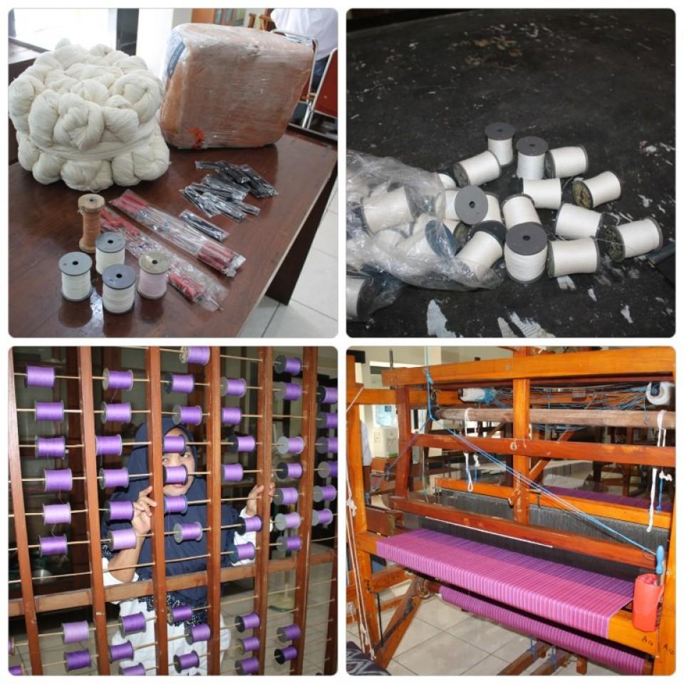 Dorong Penumbuhan Sentra Tenun di Ngajuk Jatim, Disperindag Kirim Peserta Berlatih di Balai Besar Kerajinan dan Batik_foto