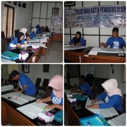 Tingkatkan Kemampuan  Pengrajin, Bank Indonesia Cabang Provinsi Jatim Memberikan Fasilitasi Pelatihan Batik _foto