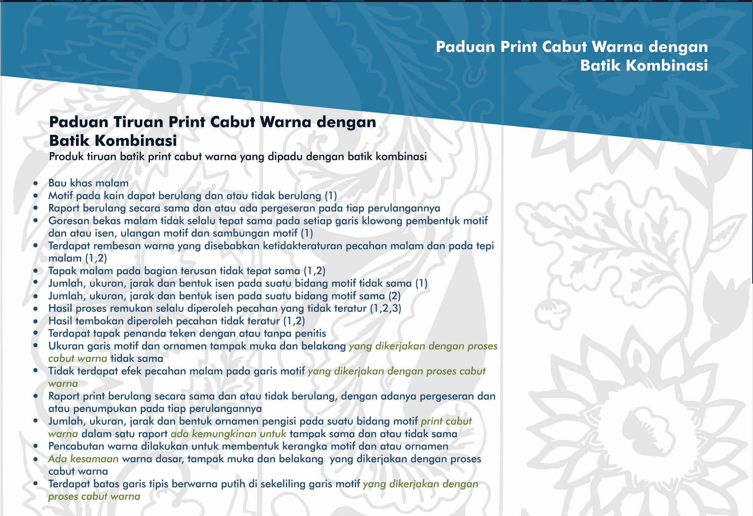 Ciri Batik 5