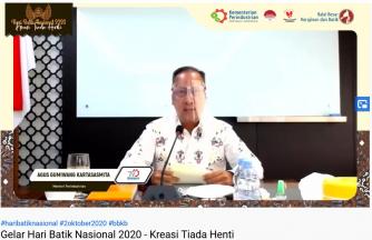 PRESS RELEASE  HARI BATIK NASIONAL TAHUN 2020