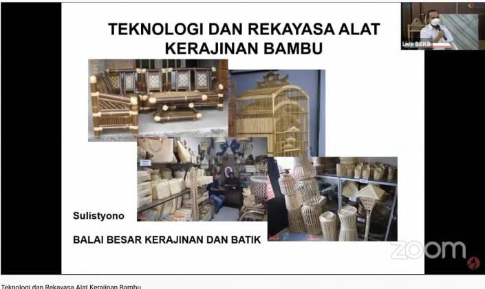 "Knowledge Sharing ""Teknologi & Rekayasa Alat Kerajinan Bambu"" Dalam Rangka Mendukung Gerakan Nasional Bangga Buatan Indonesia Wilayah Jogja-Solo-Semarang (Joglo Semar)_foto"