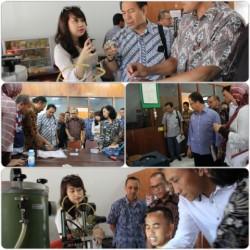 Pelajari limbah cair dari proses pewarnaan batik, Disperindag Kota Samarinda Kunjungi BBKB_foto