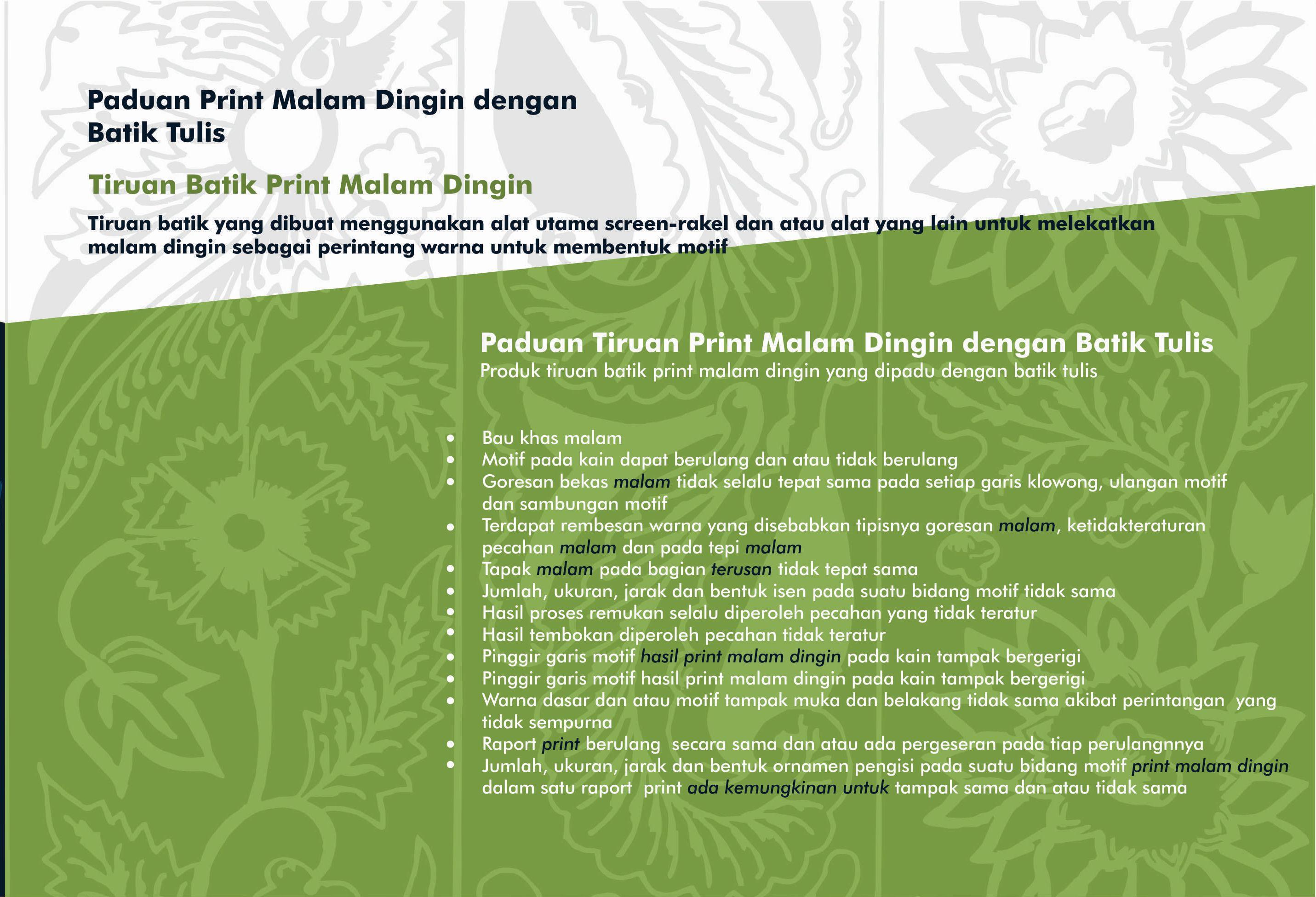 Ciri Batik 6
