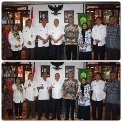 Perkuat Pengembangan IKM Kerajinan dan Batik , Kepala Balai Besar Kerajinan  dan Bupati Bantul Tanda Tangani Kesepakatan Bersama dan Perjanjian Kerja Sama_foto