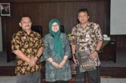 Balai Besar Kerajinan dan Batik Yogyakarta melakukan Penjajagan Kerjasama dengan Pemerintah Kabupaten  Banyumas_foto