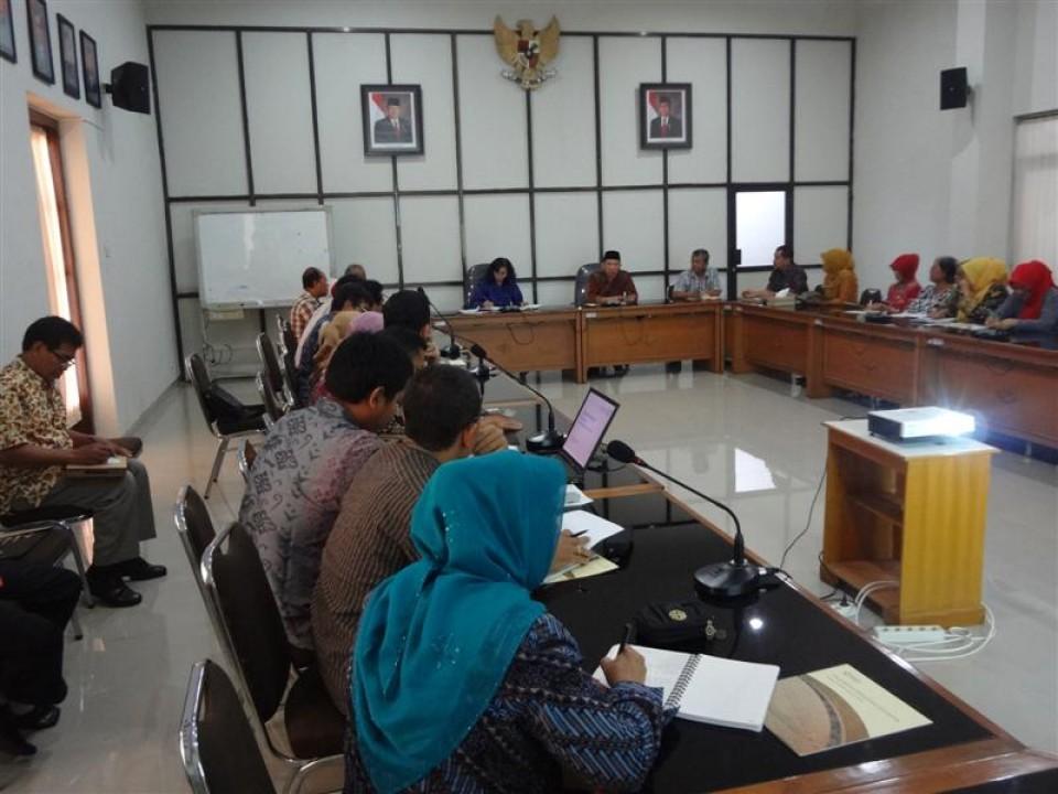 Bupati Banyumas dan Rombongan Berkunjung ke Balai Besar Kerajinan dan Batik Yogyakarta_foto