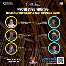 Knowledge Sharing: Teknologi & Rekayasa Alat Kerajinan Bambu