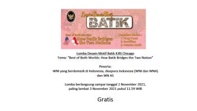 Lomba Desain Motif Batik