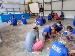 Balai Litbang Kemenperin Ciptakan Perajin IKM dari Warga Binaan Lapas_foto
