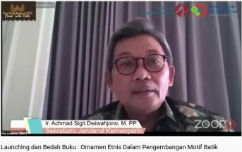 Launching dan Bedah Buku Ornamen Etnis Dalam Pengembangan Motif Batik
