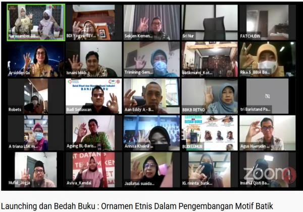 Launching dan Bedah Buku Ornamen Etnis Dalam Pengembangan Motif Batik_foto