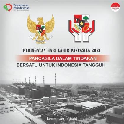 Peringatan Hari Lahir Pancasila 2021 _foto