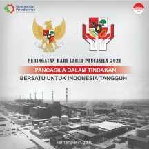 Peringatan Hari Lahir Pancasila 2021