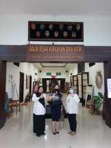 Kunjungan  PT. Sentral Kreasi Kencana (SKK Jewels) di Balai Besar Kerajinan dan Batik