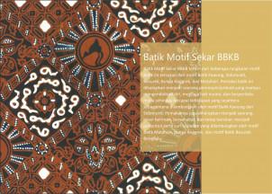 Desain Batik Sekar BBKB