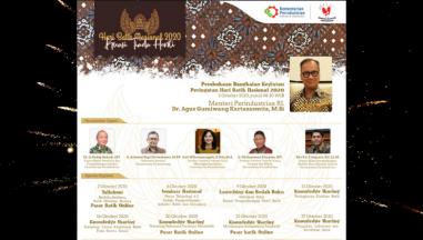 Rangkaian Kegiatan Peringatan Hari Batik Tahun 2020 di Balai Besar Kerajinan dan Batik