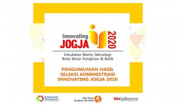 Pengumuman Hasil Seleksi Innovating Administratif Innovating Jogja 2020