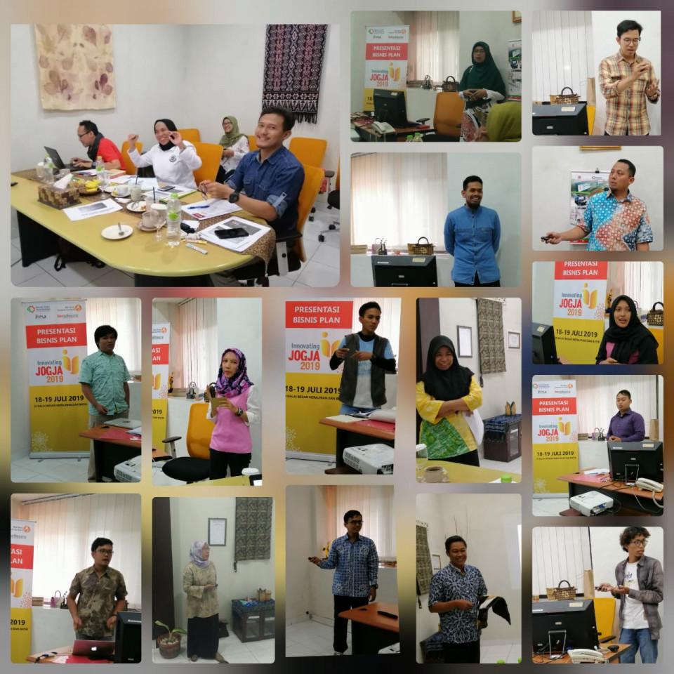 Pengumuman 10 (sepuluh) pemenang Innovating Jogja_foto