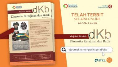 Telah Terbit Jurnal Secara Online Majalah Ilmiah DKB Vol. 37, No. 1 Juni 2020