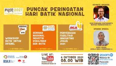 Puncak Peringatan Hari Batik Nasional 2021